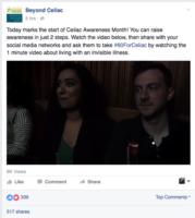 Beyond Celiac FB Post
